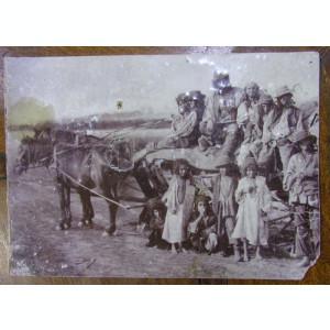 FOTOGRAFIE - GRUP (ȘATRĂ) DE ȚIGANI