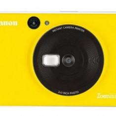 Aparat foto compact Canon Zoemini C, 5MP, Tehnologie de imprimare ZINK, Bluetooth (Galben)