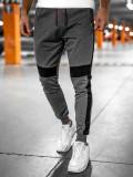 Pantaloni de trening grafit Bolf YLB88017