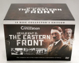 "Set 10 DVD ""WORLD WAR II: THE EASTERN FRONT"", 10 DISC COLLECTOR'S EDITION, Altele, discovery channel"