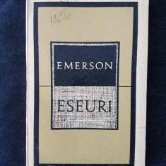 R.W. Emerson – Eseuri