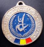 5.113 ROMANIA MEDALIE FEDERATIA ROMANA DE GIMNASTICA 49mm II