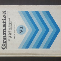 GRAMATICA -Manual pentru clasa a VI-a - Ion Popescu. 1977
