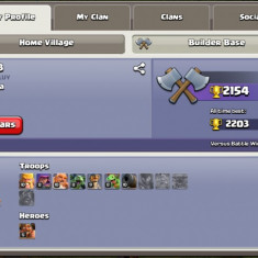 Cont clash of clans th 10