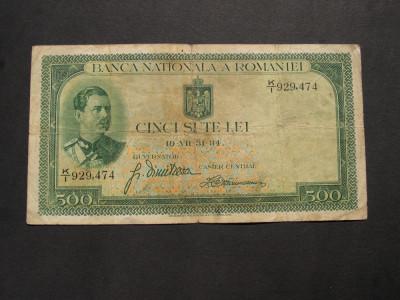 500   lei   1934    K/1 foto