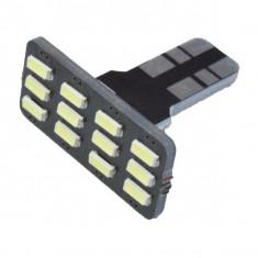 Bec PLAFONIERA 12 LED T10 12V ManiaCars