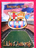 Album foto jucatori FC BARCELONA (sezonul 1997/1998)