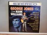 George Jones - Salutes Hank Williams (1960/Mercury/USA) - VINIL/Country