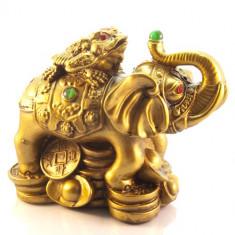 Elefant cu broasca raioasa cu trei picioare - mare model 2