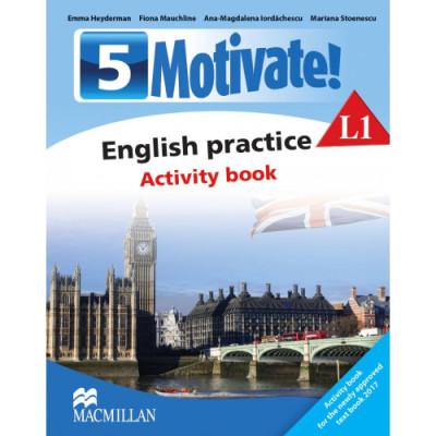 Motivate! English Practice. Activity Book. L 1 (Clasa a V-a) foto