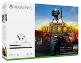 Consola MICROSOFT Xbox One S 1TB, alb + Joc PlayerUnknown Battlegrounds