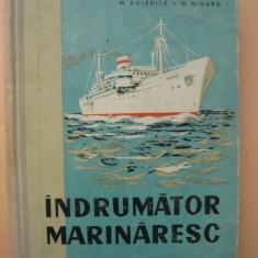 BUJENITA / NIGARU - INDRUMATOR MARINARESC - 1959