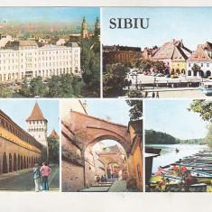 bnk cp Sibiu - Imagini din oras - circulata