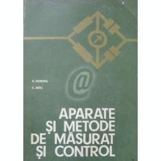 Aparate si metode de masurat si control. Manual pentru licee de specialitate