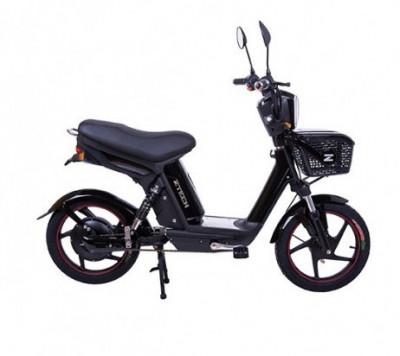 Bicicleta electrica, tip scuter, fara carnet si inmatriculare ZT-19 QUICKY NEGRU foto