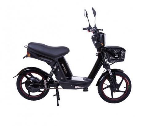 Bicicleta electrica, tip scuter, fara carnet si inmatriculare ZT-19 QUICKY NEGRU