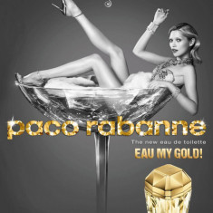 Paco Rabanne Lady Million Eau My Gold! EDT 80ml pentru Femei