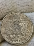 2 lei 1875, luciu, de colecție