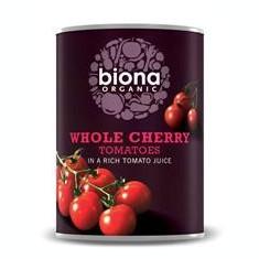 Rosii Cherry la Conserva Bio Biona 400gr Cod: 5032722306424
