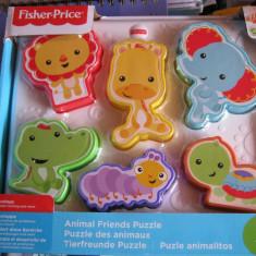 Joc puzzle cu animale Fischr price,12 luni+