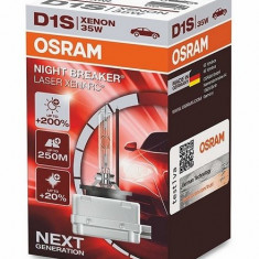 Bec Xenon D1S OSRAM Xenarc NIGHT BREAKER LASER Next Generation, +200% 66140