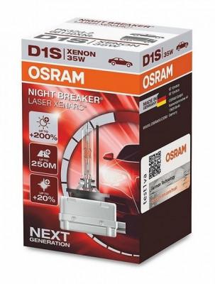 Bec Xenon D1S OSRAM Xenarc NIGHT BREAKER LASER Next Generation, +200% 66140 foto