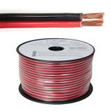 Cablu difuzor rosu/negru 2x4mm2 100m