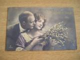 CAB9 - FELICITARI FOARTE VECHI - ANII 1920, Circulata, Fotografie, Spania