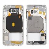 Carcasa mijloc cu geam camera / blitz , Samsung Galaxy S6 edge+ G928 Gold Orig Swap A