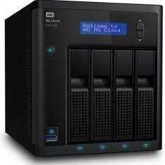 NAS Western Digital EX 4100, My Cloud, 4 Bay-uri, Gigabit, 1600 MHz, 2 GB DDR3 (Negru)