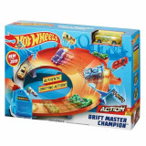 Jucarie Pista Hot Wheels Drift Master Champion GBF84 Mattel
