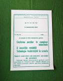 Afis vechi de cinematograf, afis vechi de colectie perioada comunista
