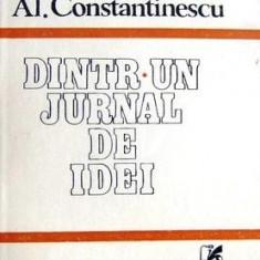 Dintr-un jurnal de idei