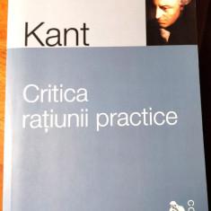 I. Kant, CRITICA RATIUNII PRACTICE