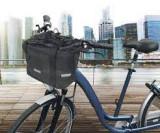 """Cumpara ieftin Coș pentru biciclete pliabil 2 în 1, negru, 12"""""""