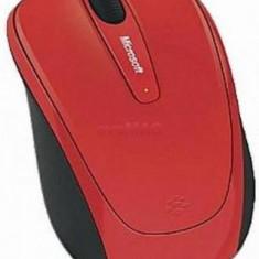 Mouse Microsoft Wireless BlueTrack Mobile 3500 (Rosu)
