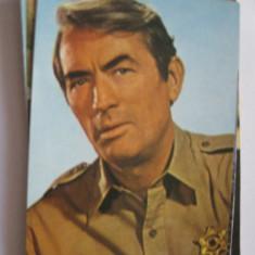 Carte postala actori/film - Gregory Peck