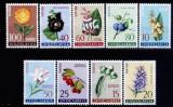 Iugoslavia 1961 - Flora 9v.serie completa,neuzat,perfecta stare(z)