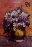 Liviu Cornescu - Vas cu flori , u/p