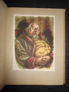 M. E. SALTACOV- SCEDRIN - OPERE ALESE (1954, ilustratii de Eugen Taru)