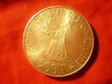 Moneda 500 lei 1941 Mihai I si Stefan cel Mare argint cal. F.Buna