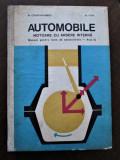 Carte: Automobile, Motoare cu ardere interna, M. Constantinescu - M. Popa