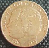Moneda 1 COROANA - SUEDIA, anul 1989 *cod 842 B, Europa