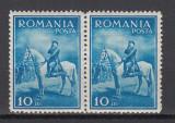 ROMANIA 1932 LP 97 CAROL II - CALARE PERECHE MNH