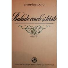 BALADE VESELE SI TRISTE - G. TOPARCEANU