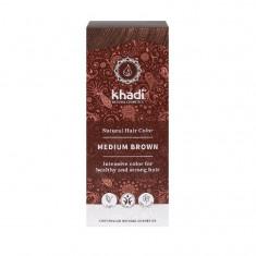 Vopsea de par naturala Saten Mediu - Khadi
