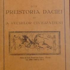 DIN PREISTORIA DACIEI SI A VECHILOR CIVILIZATIUNI de N.PORTOCALA ,1932