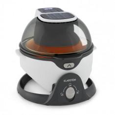 Klarstein VitAir Swing, friteuză cu aer cald, 1400 W, 50 - 240 ° C, cronometru, albă