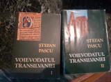 Voievodatul Transilvaniei – Stefan Pascu, vol. 1 si 2