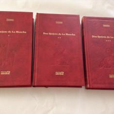 Iscusitul Hidalgo Don Quijote De La Mancha - 3 VOLUME EDITIA ADEVARUL*RF3/1